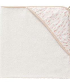 freskwrapper baba törölköző esőcseppek rózsaszín