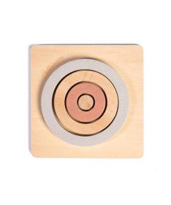 Pellianni Round Puzzle - Pastel
